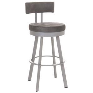 Amisco Urban Bar Height Barry Swivel Stool