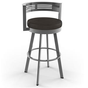 Amisco Urban Rival Swivel Barstool