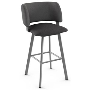 "34"" Spectator Height Easton Swivel Stool"