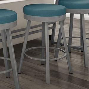 Amisco Urban Customizable Upholstered Sorrento Swivel