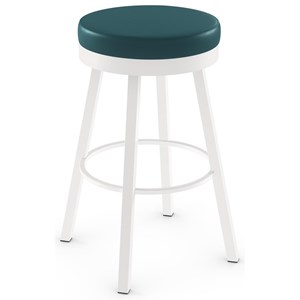 "34"" Spectator Height Rudy Swivel Stool"