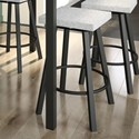 "Amisco Urban 26"" Anders Swivel Counter Stool - Item Number: 42593-26-25-BP"
