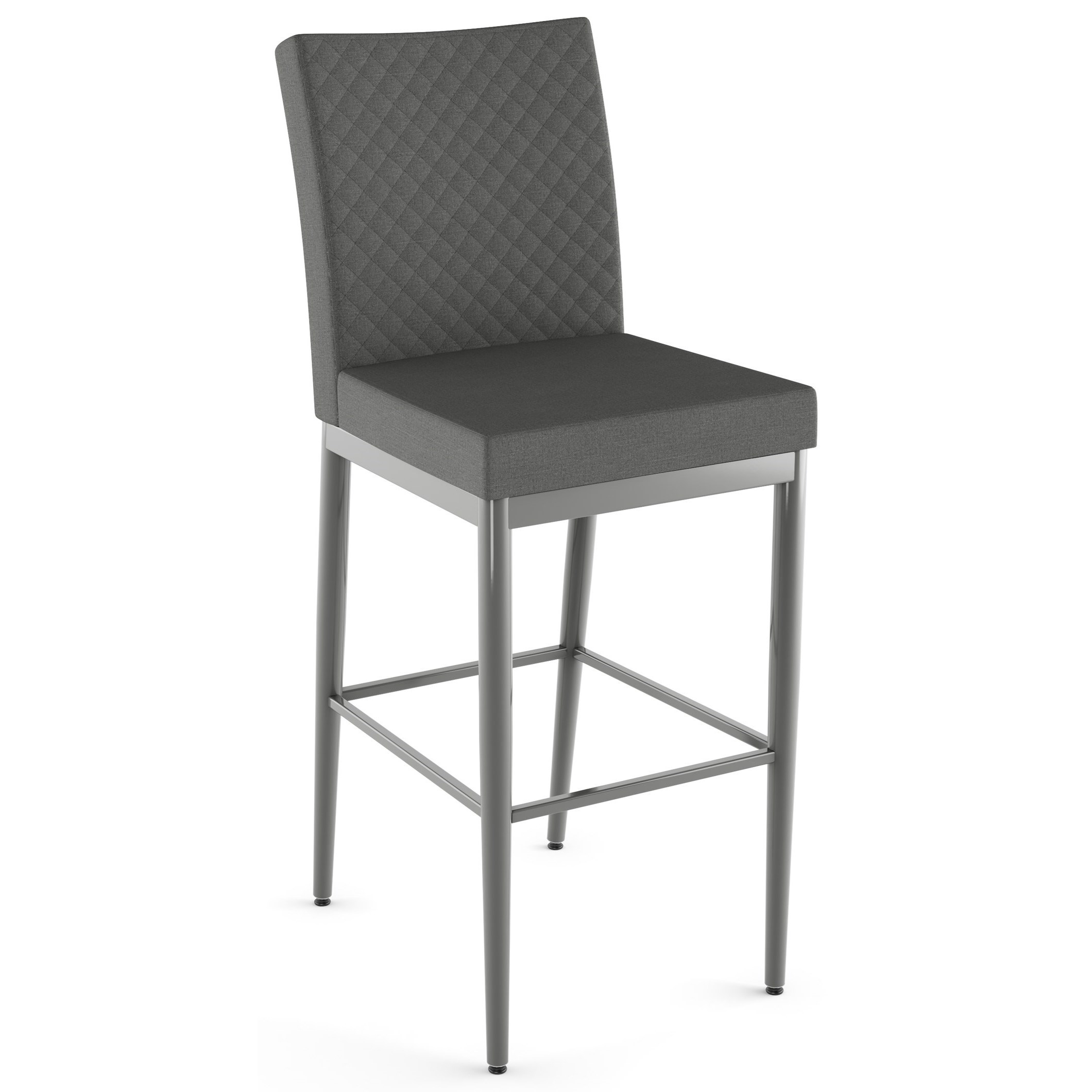 """26"""" Melrose Counter Stool w/ Quilted Fabric"""
