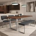 Amisco Urban Burton Table Set - Item Number: 50557-24+90845-87+3x30535+30419