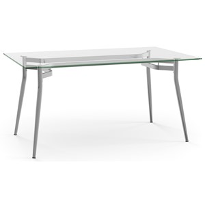 Alys Table with Glass Top
