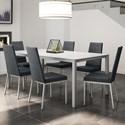 Amisco Urban 7-Piece Bennington Table Set - Item Number: 50960-53+90281+6x30317-53-JH