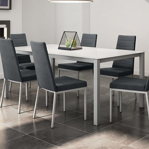 Bennington Table with Glass Top
