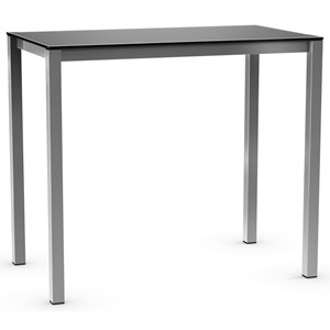 Bar Height Harrison Pub Table with Glass Top
