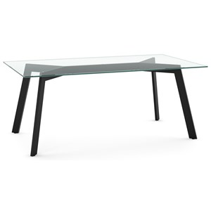 Lidya Table with Glass Top