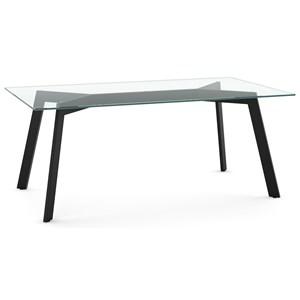 Lidya Table with Glass Top