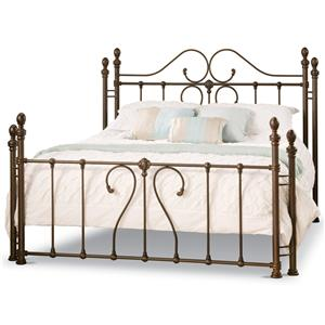 Amisco Victorian Queen Amina Bed