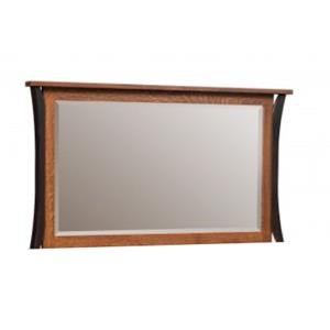 Amish Furniture Allegheny Dresser Mirror