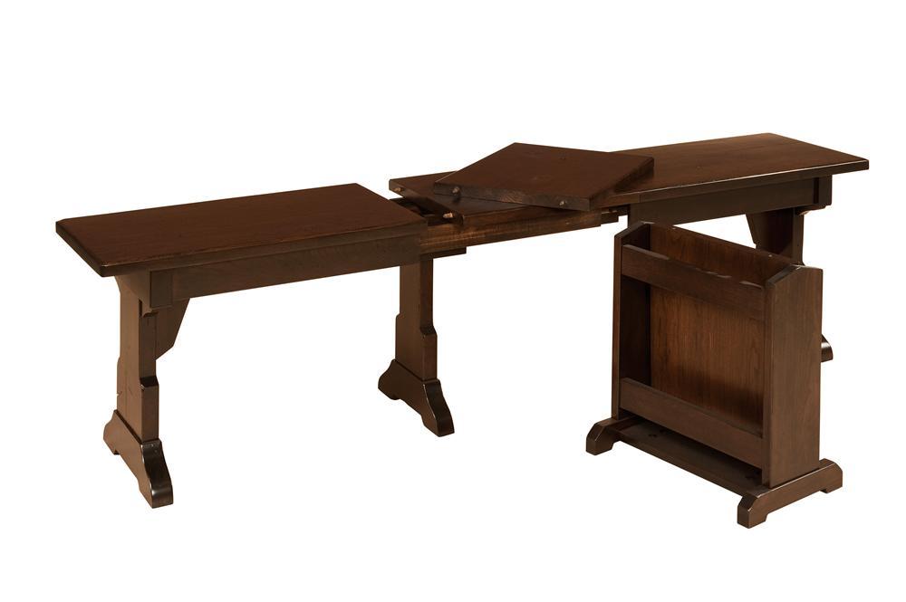 Morris Home Furnishings Americana Americana Storage Bench - Item Number: AAEXB-03-47