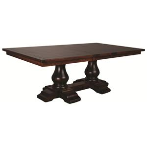 Morris Home Furnishings Wellington Wellington Table Top/Base/(1)Leaf