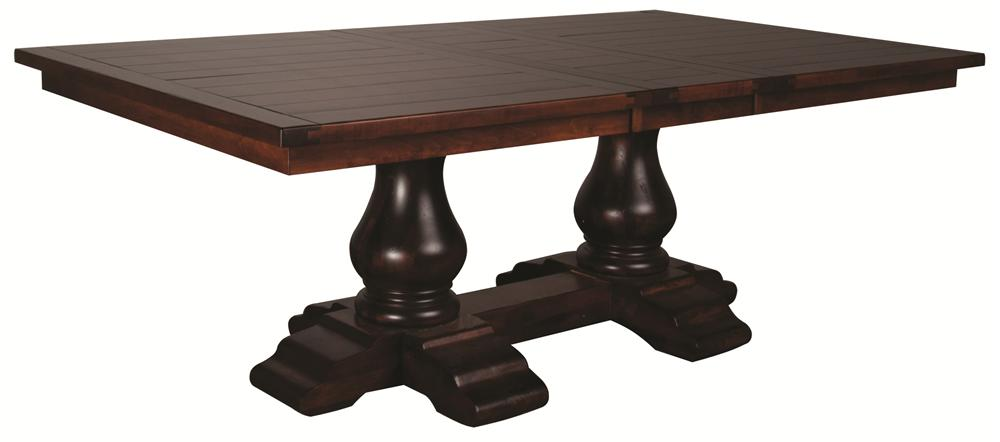 Morris Home Furnishings Wellington Wellington Table Top/Base/(1)Leaf - Item Number: WTTB4872-03-47T/B/(1)L