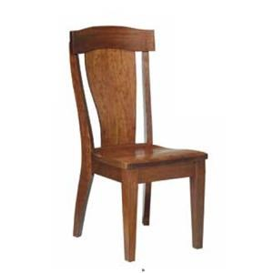 Amish Impressions by Fusion Designs Asher Dining Side Chairs