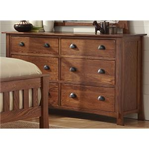 Morris Home Furnishings Breckenridge Breckenridge Dresser