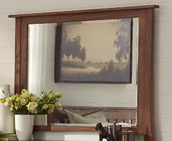 Morris Home Furnishings Breckenridge Breckenridge Mirror - Item Number: 399789896