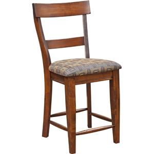 Morris Home Furnishings Bar Chairs Lewiston Bar Chair