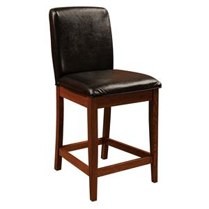 Amish Impressions by Fusion Designs Bar Chairs Parson Bar Chair