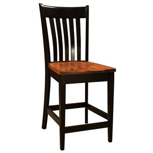 Morris Home Furnishings Bar Chairs Seabury Bar Chair