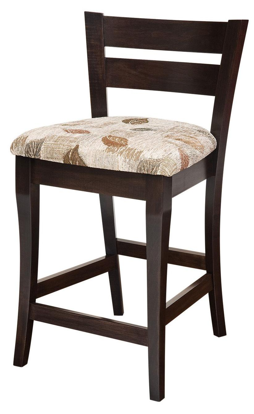 Bar Chairs Yorkshire Bar Chair by Amish Impressions by Fusion Designs at Mueller Furniture
