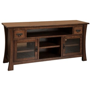 Amish Impressions by Fusion Designs Brigham Brigham Large TV Cabinet
