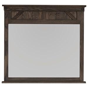 Amish Impressions by Fusion Designs Cedar Lakes Dresser Mirror