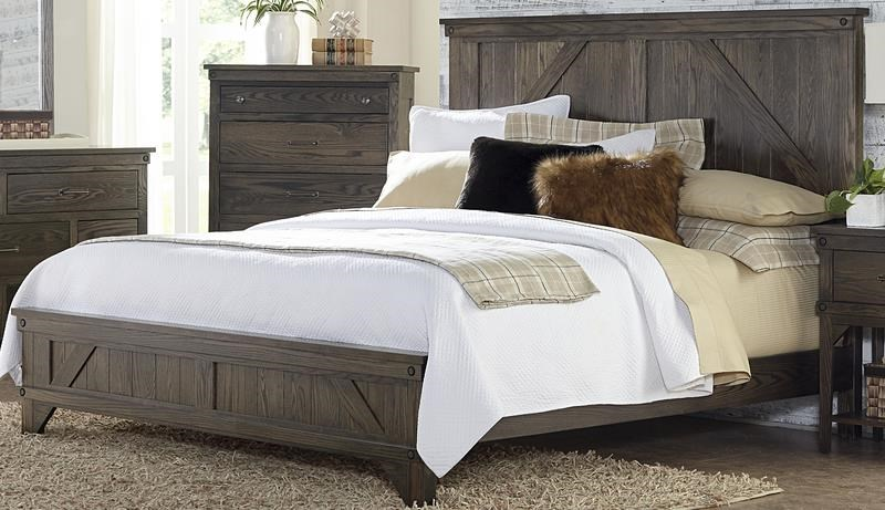 Cedar Lakes Cedar Lakes King Bed by Amish Impressions by Fusion Designs at Morris Home