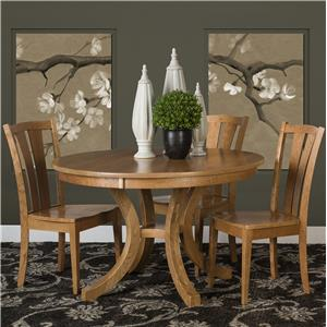 Morris Home Furnishings Charleston 5 Piece Dining Set
