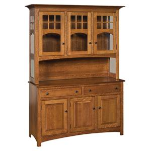 Morris Home Classic Buffet and Hutch