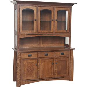 Morris Home Furnishings Hayworth Buffet with Hutch