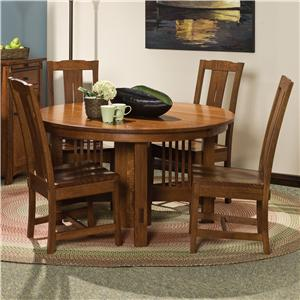 "Morris Home Furnishings Hawley 5 pc. 48"" Table and Chairs Set"