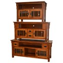 Morris Home Furnishings Medallion Medallion Medium TV Cabinet with Dovetail Drawers