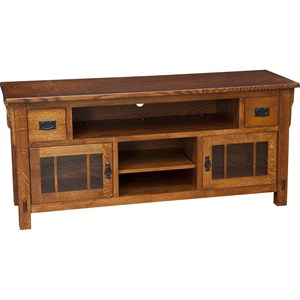 Morris Home Furnishings Medallion Medallion Large TV Cabinet