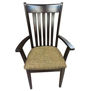 Amish Impressions by Fusion Designs Savannah Upholstered Arm Chair