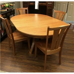 Amish Impressions by Fusion Designs Sedona 5-Piece Dining Set