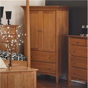 Morris Home Furnishings Santa Fe Armoire