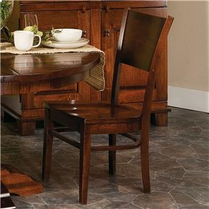 Morris Home Furnishings Wellington Americana Dining Side Chair