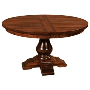 "Morris Home Furnishings Wellington 60"" Round Dining Table"