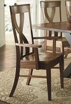 Morris Home Furnishings Xander Xander Dining Arm Chair - Item Number: 213921202