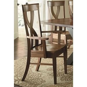 Morris Home Furnishings Xander Xander Dining Arm Chair