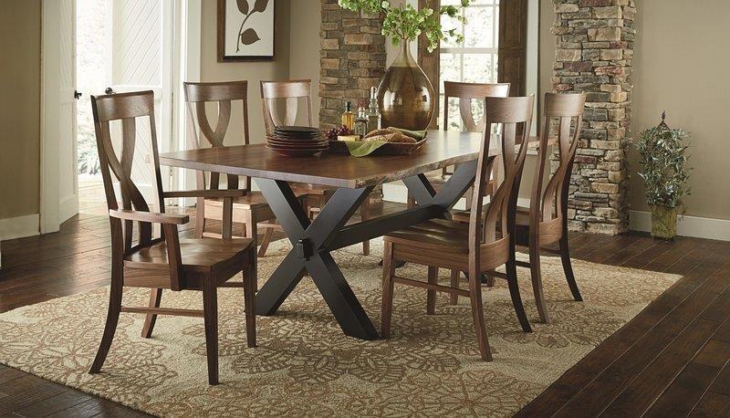 Morris Home Furnishings Xander Xander Dining Table - Item Number: 870033633