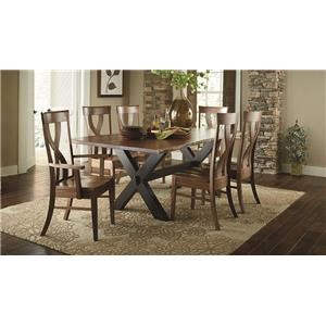 Morris Home Furnishings Xander Xander Dining Table