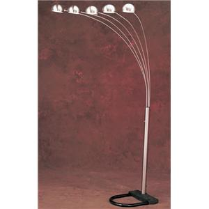Anthony of California Lamps Arch Lamp