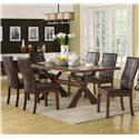APA by Whalen Xenia  Side Chair w/ Upholstery - Side Chair Shown with Table