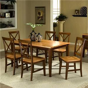 APA by Whalen Camden 7-Piece Table Set