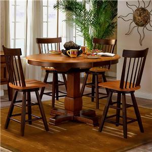 APA by Whalen Camden 5-Piece Counter Height Table Set