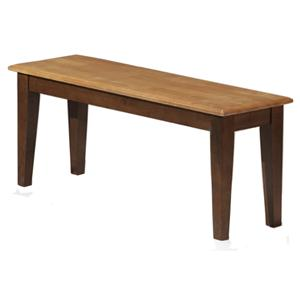 APA by Whalen Camden Wood Dining Bench