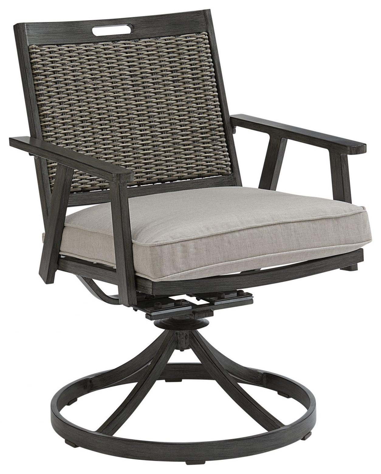 Adison Swivel Chair by Apricity Outdoor at Johnny Janosik